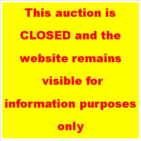 auction closed button