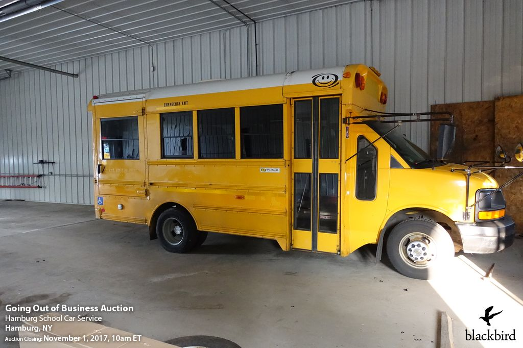 Transportation company going out of business; school bus