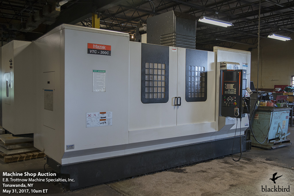 CNC Machine Auction