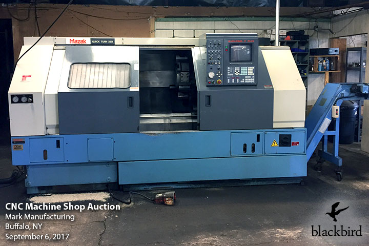 CNC Machine Shop Auction