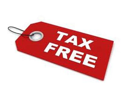 No sales tax image